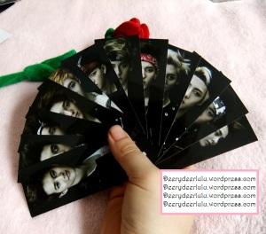 exo ot12 wolf lomo bookmark (front)